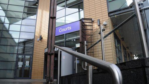 Bristol Magistrates' Court front entrance