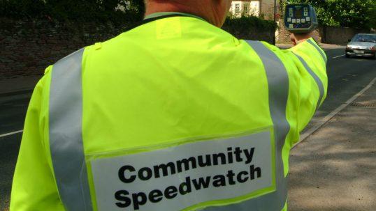 Community Speedwatch volunteer
