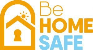 Be Home Safe logo