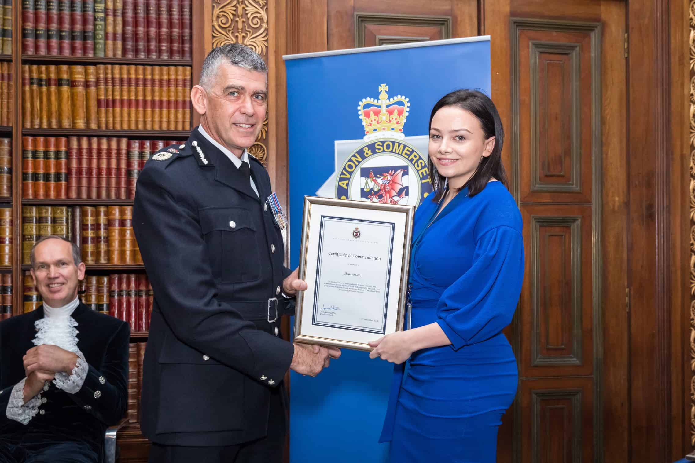 Exceptional work and deeds commended at Chief Constable's Awards