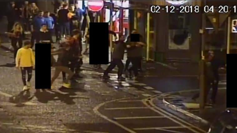 CCTV image from Alexandra Parade