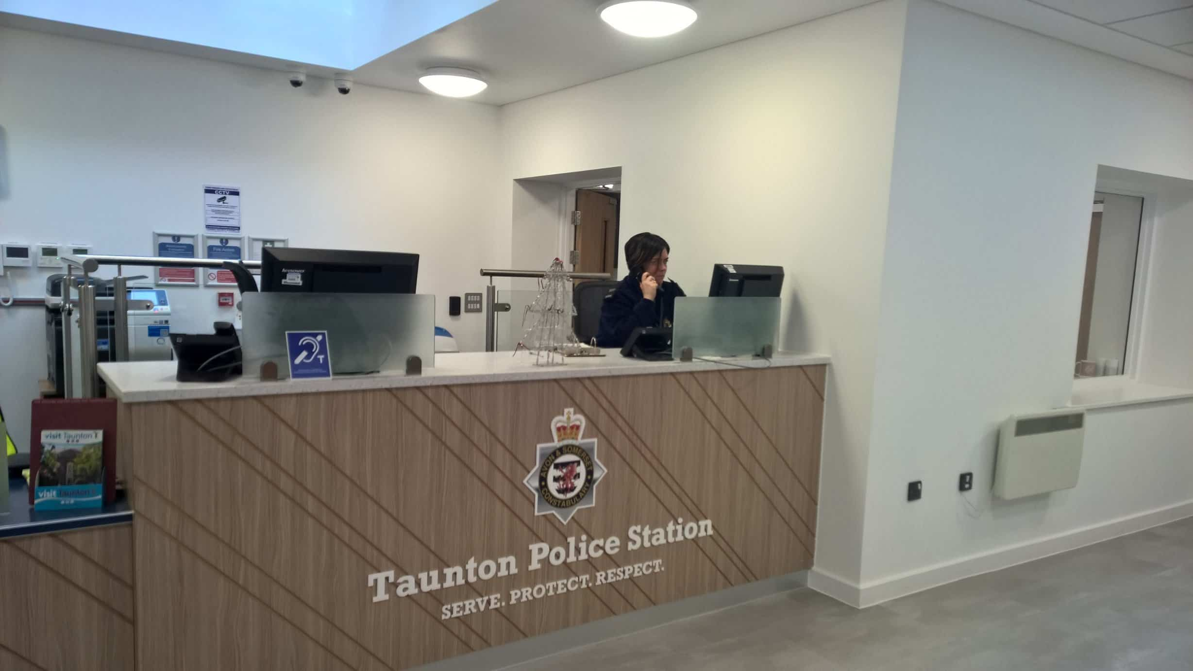 A new police station for Taunton opens