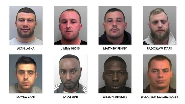 Romeo Hicks >> Organised Crime Group Jailed For Total Of 57 Years Avon And