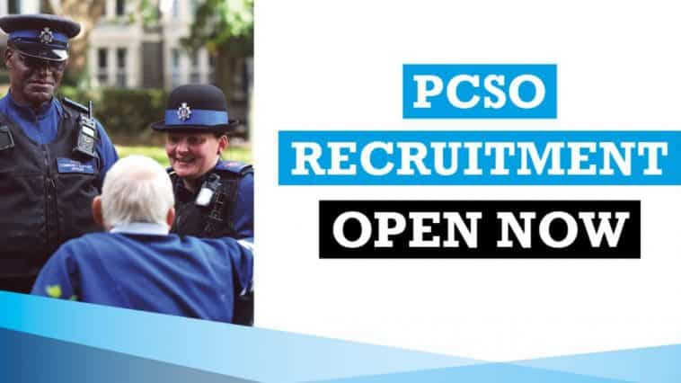 PCSO recruitment is now open