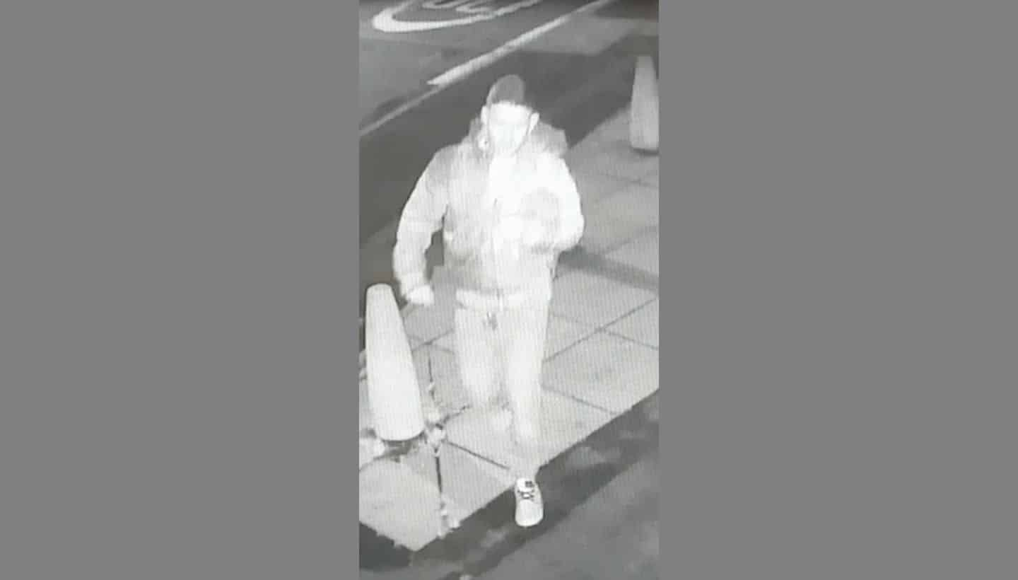 CCTV images released following arson in Frome