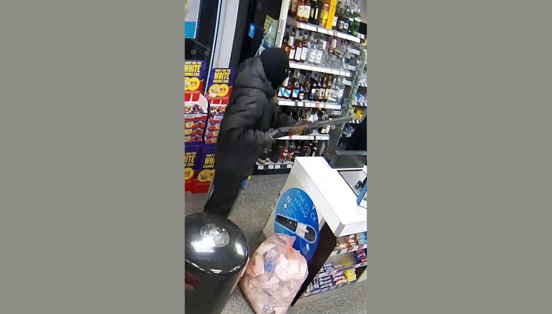 CCTV image released of Yeovil armed robber