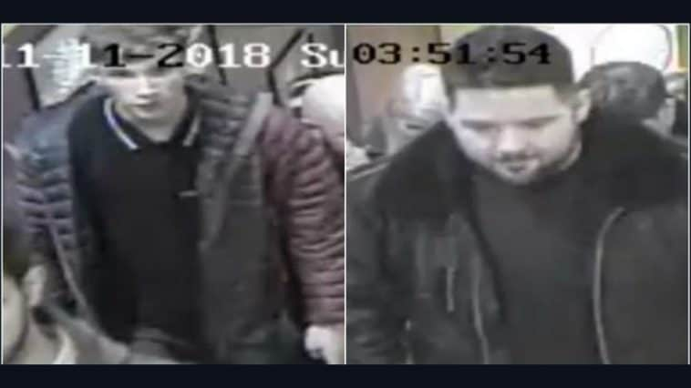 Can you help us identify these two men?