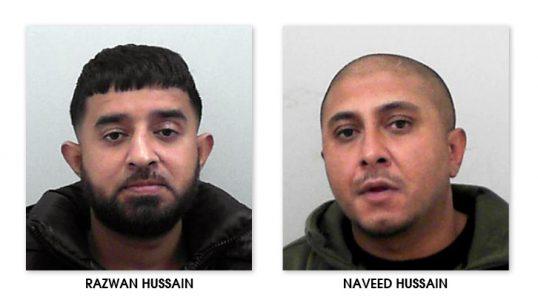Razwan and Naveed Hussain