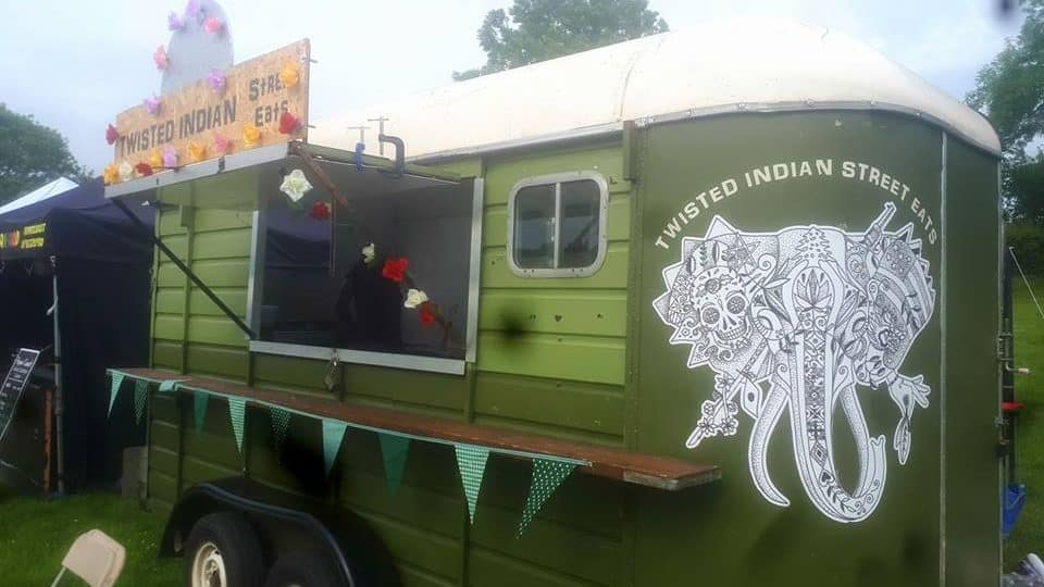 Can you help us find this distinctive catering trailer, stolen from Bath?