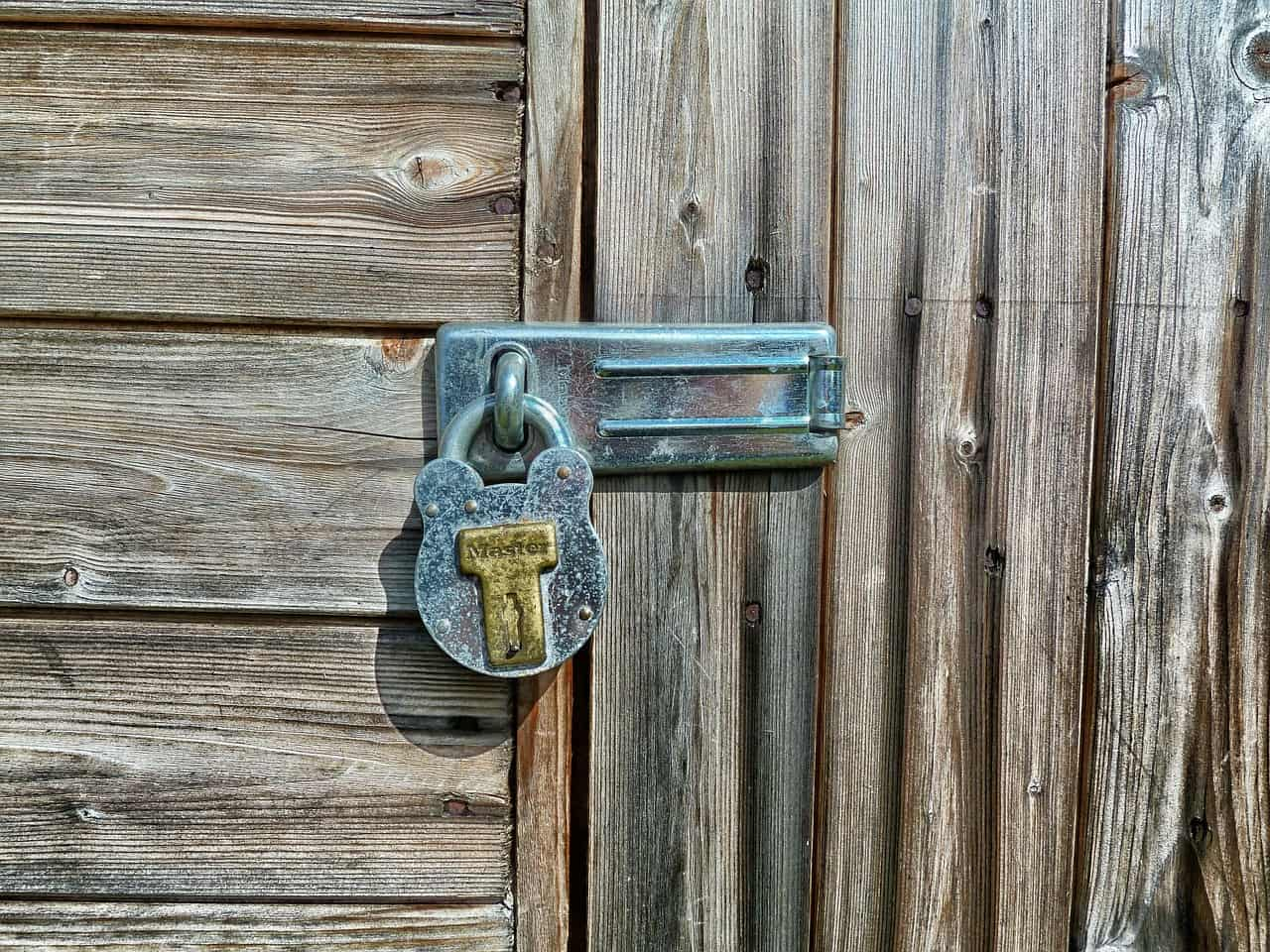 Don't give thieves shedloads of opportunity