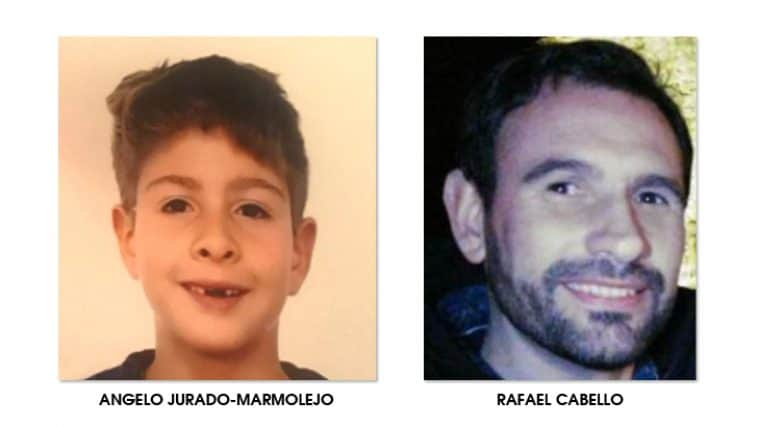 Angelo Jurado-Marmolejo and his father Rafael Cabello