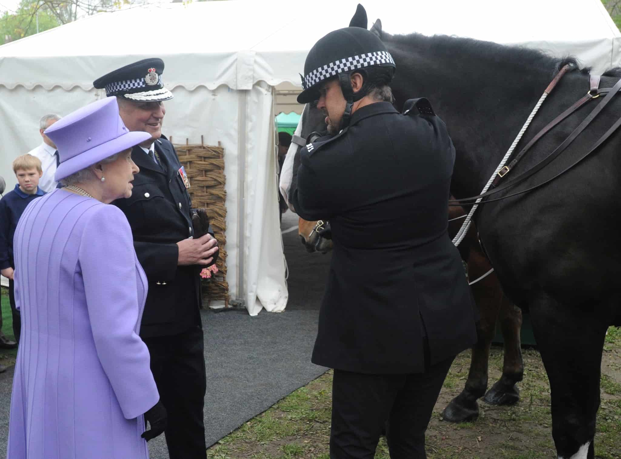 Visit to Somerset by Her Majesty The Queen