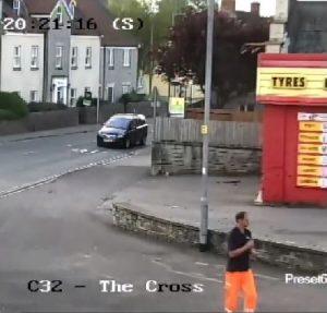 Mark Butcher caught on CCTV