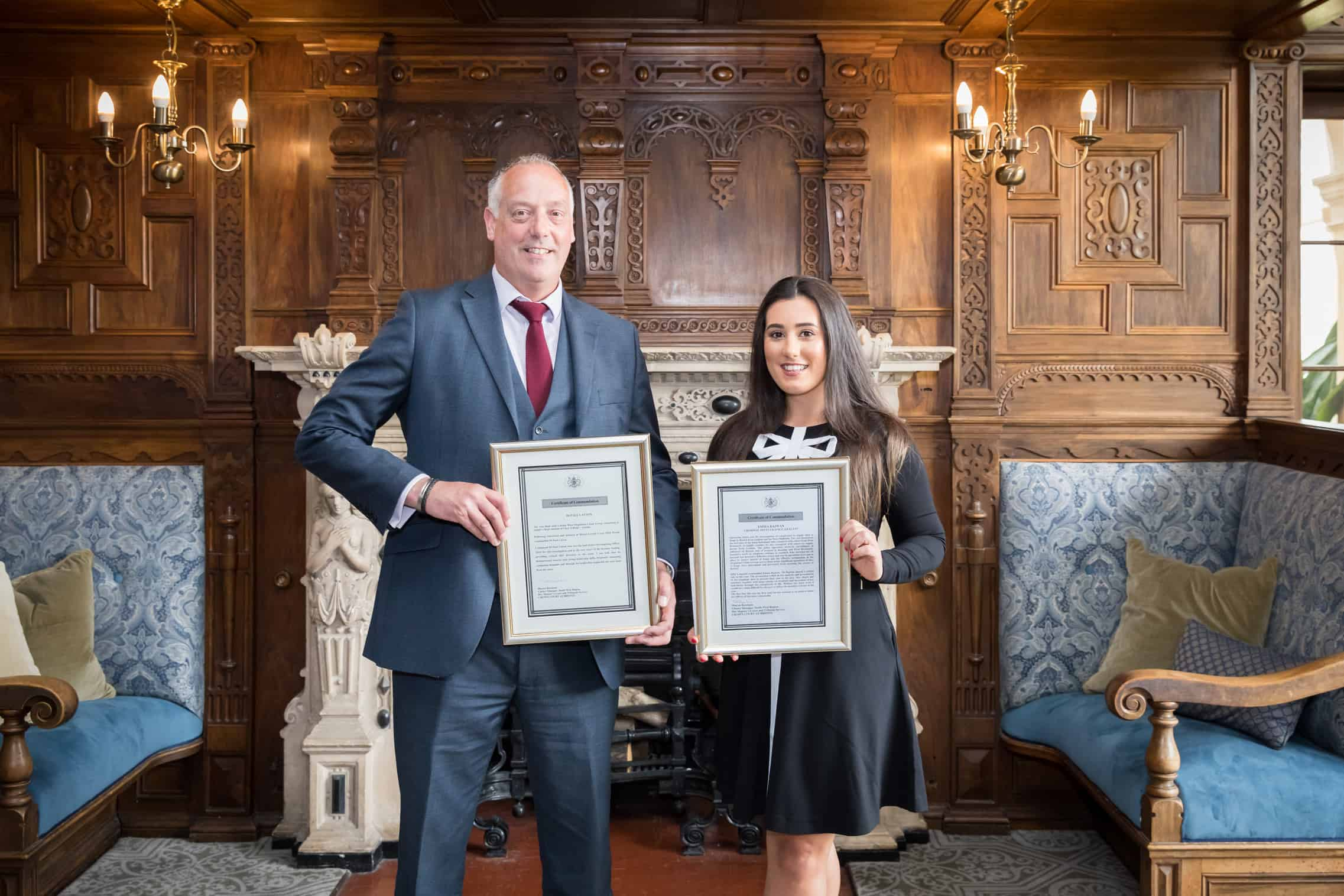 Officers who tackled organised crime groups recognised at force awards ceremony