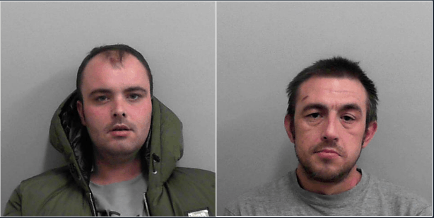 Two face 10 years behind bars following Radstock robberies