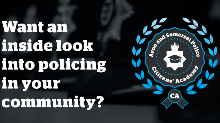 Want an inside look into policing in your community?