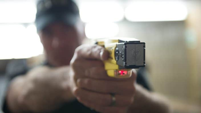 Increase in Taser trained officers announced as number of assaults on officers rises