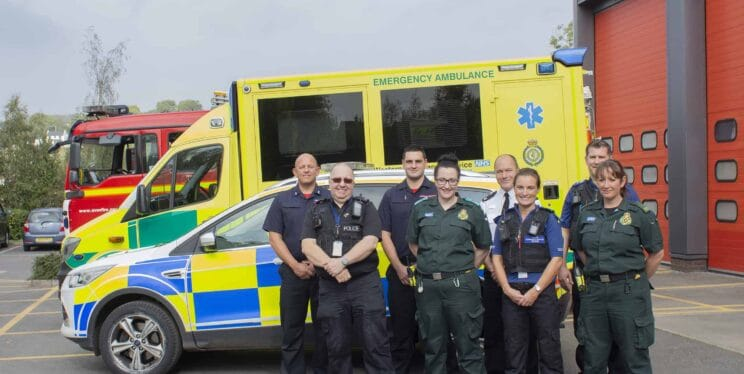 South West emergency staff