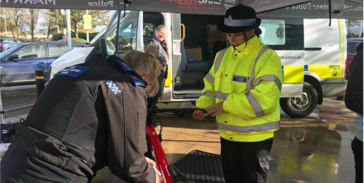 Bicycle security marking - framed for success
