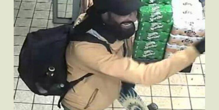 CCTV image of a man