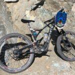 A picture of black Deviate Guide bike.