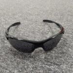 A pair of sport sunglasses