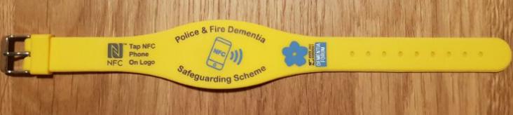 NFC Dementia Safeguarding Scheme Band