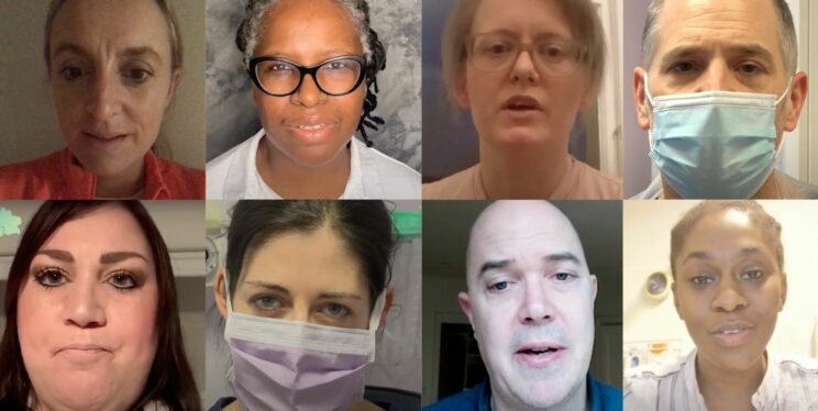 Stories from the Covid frontline