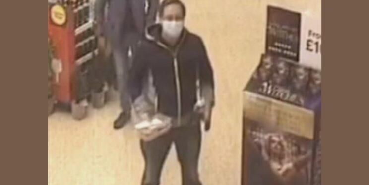Do you recognise the man in this CCTV image?
