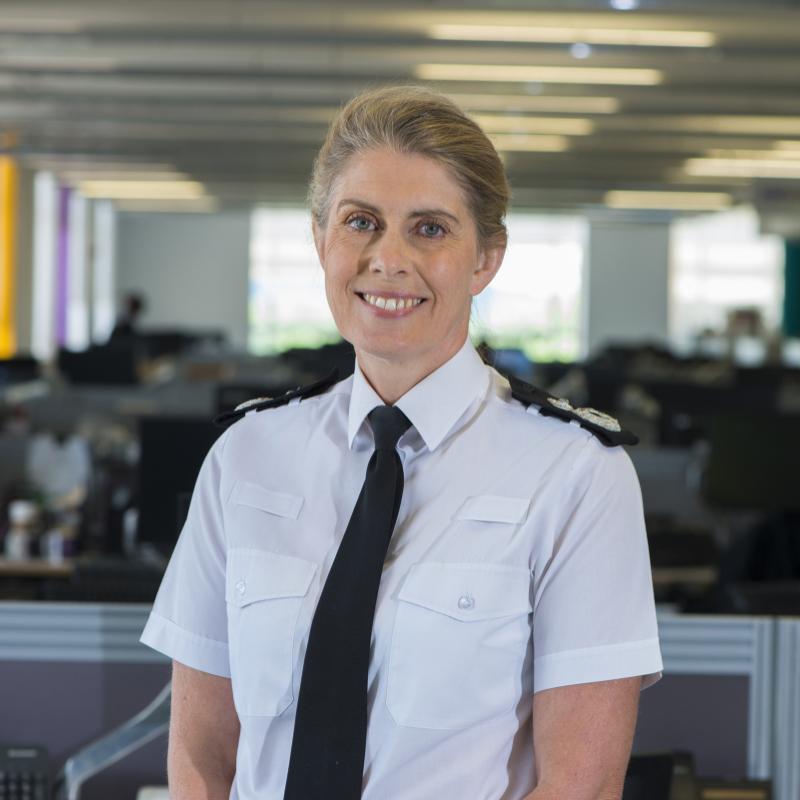 Temporary Deputy Chief Constable Nikki Watson