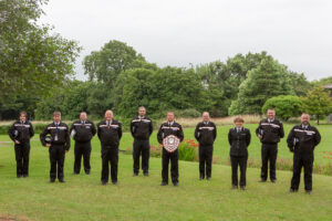 Group picture of West Somerset Specials, Special Constabulary Team of the Year Award