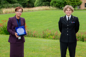 Bronwen Bishop who won Police Support Volunteer of the Year Award