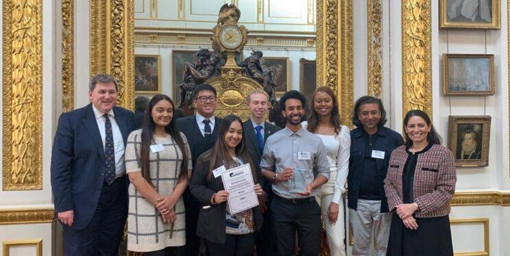 Avon and Somerset Police BPA's Volunteer Team with Kit Malthouse and Home Secretary Priti Patel